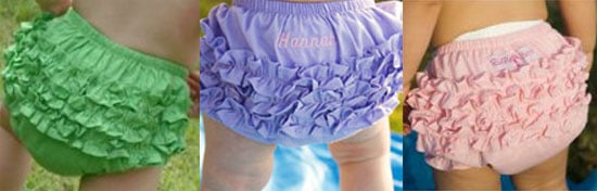 Baby's Got Back! RuffleButts Diaper Covers
