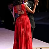 Barack and Michelle only had eyes for each other during the Commander-in-Chief's Inaugural Ball.