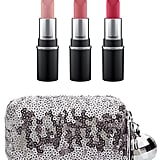 MAC Snow Ball Mini Lipstick Kit in Pink