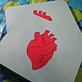 Anatomical Heart Mousepad ($12)