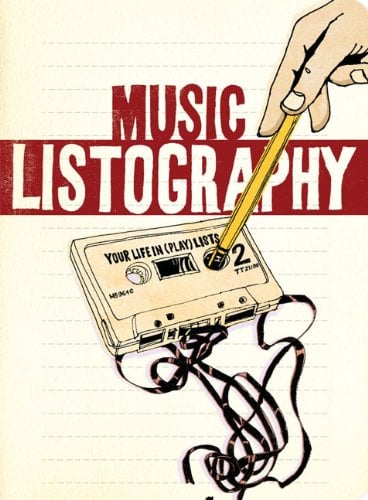 Music Listography Journal ($12)