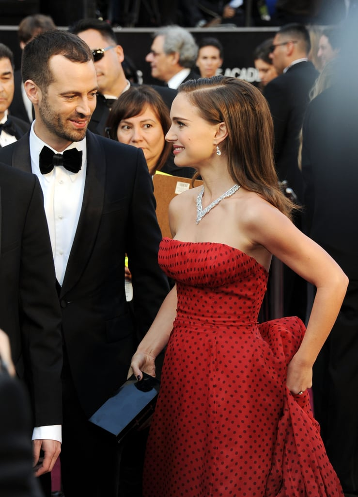 Natalie Portman and Benjamin Millepied