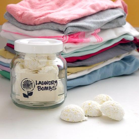DIY Eco Laundry Bombs