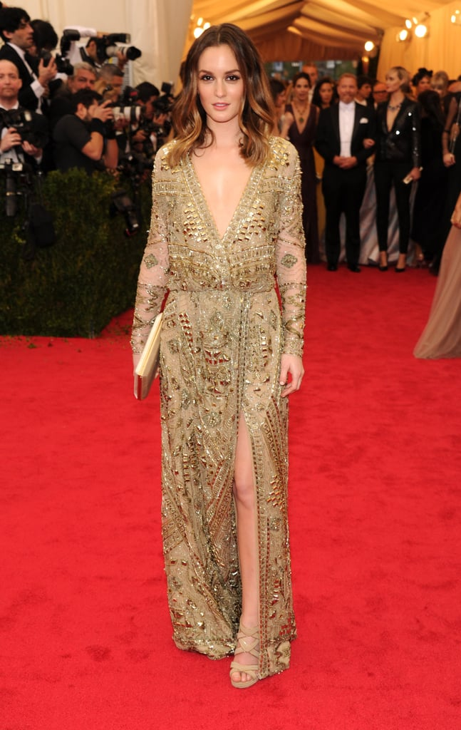 Leighton Meester at the 2014 Met Gala