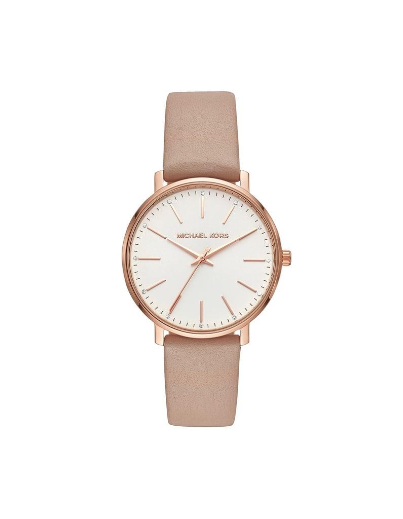 Michael Kors Pyper Brown Watch ( 259)  8990eb8ac