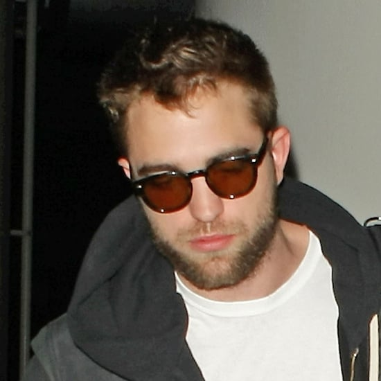 Robert Pattinson With a Beard