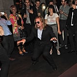 Val Kilmer busts a move at the Twixt afterparty.