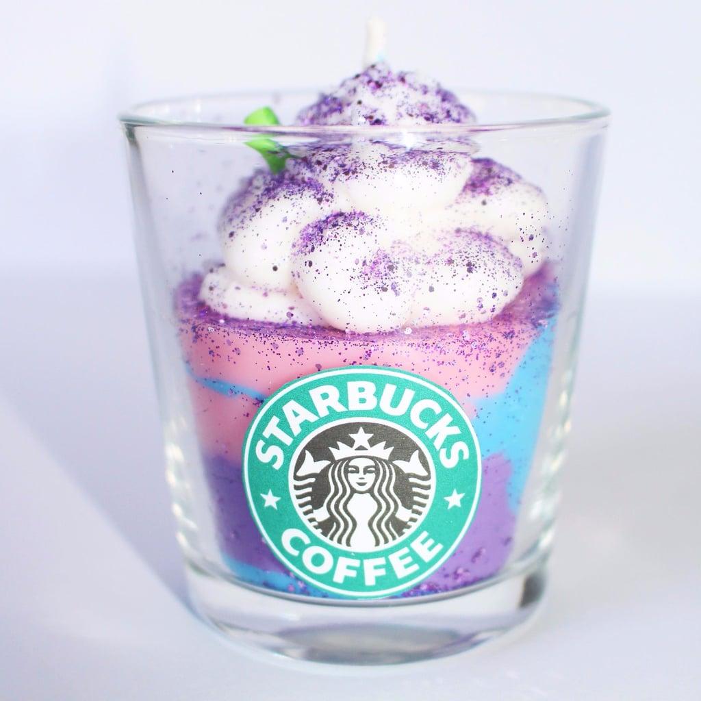 Starbucks Unicorn Frappuccino Candle