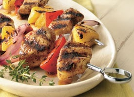 Fast & Easy Dinner: Caribbean Chicken Kabobs
