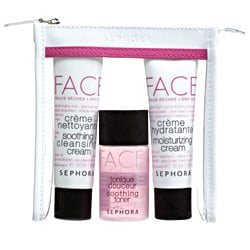 Friday Giveaway! Sephora FACE Weekend Set for Dry Skin