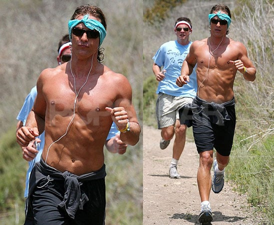 Matty Debuts His Summer Work-Out Look