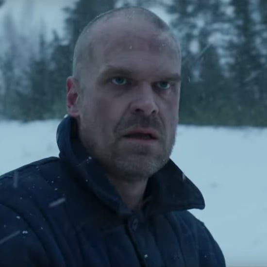 An Ode to Jim Hopper's Bald Look in Stranger Things Season 4