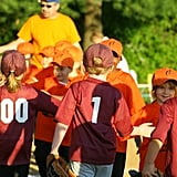 Talk with your child about what sportsmanship means.