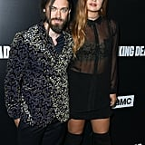 Tom Payne and Jennifer Akerman