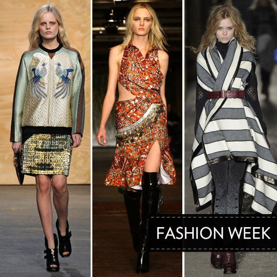 Our Top Five Favourite Fall 2012 New York Fashion Week Shows: Proenza Shouler, Altuzarra and more