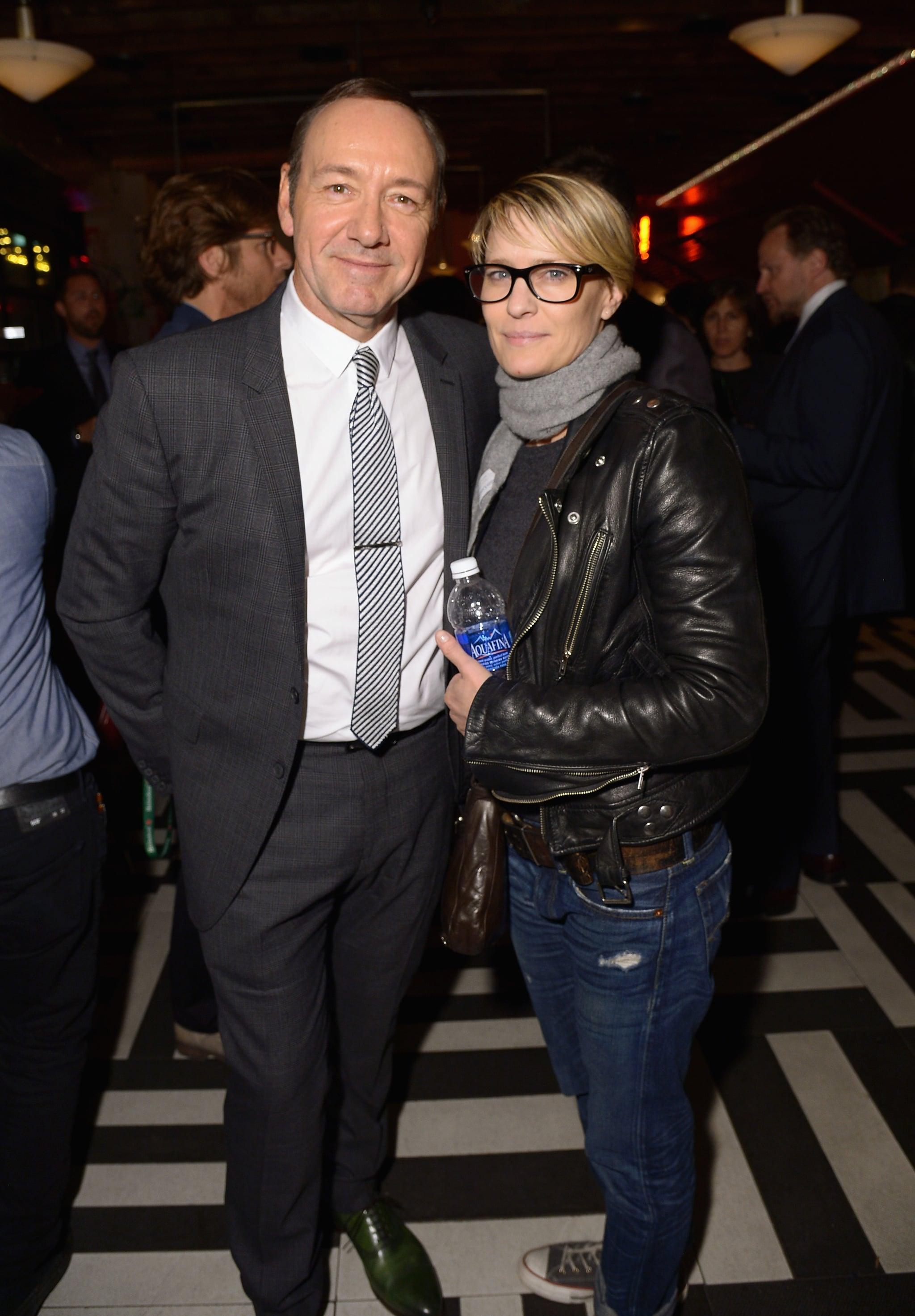 Robin Wright avec Kevi...