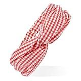 Seersucker Gingham Headwrap