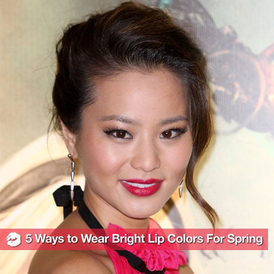 How to Wear Bold Bright Lip Colors For Spring