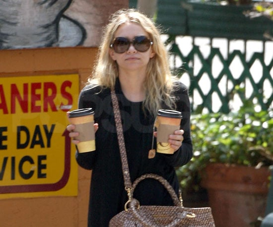 Photo of Ashley Olsen Getting Coffees in LA