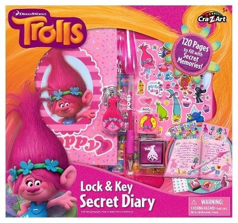 Trolls Create-Your-Own Secret Diary