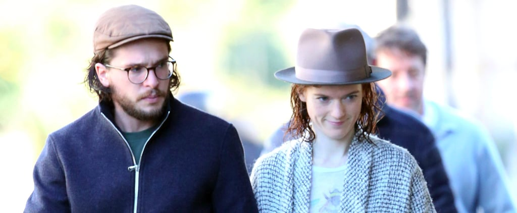 Look Away, Daenerys! Kit Harington and Rose Leslie Step Out Together After Engagement News