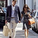 Pippa Middleton and Alex Loudon spending a Sunday out in London.