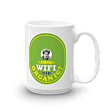 """Is This WiFi Organic?"" Mug"