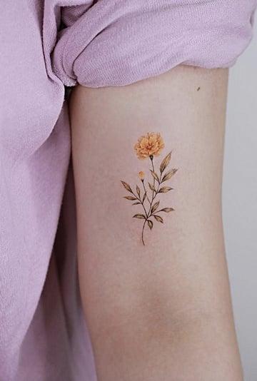 Birth Flower Tattoo Ideas