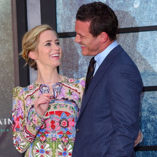 Emily Blunt and Luke Evans at the Girl on the Train Premiere