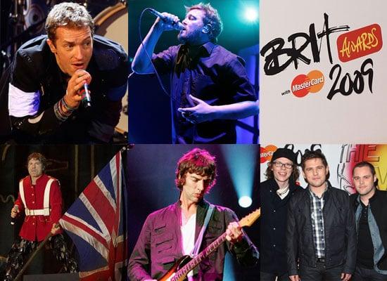 2009 Brit Awards — Best British Live Act Nominees
