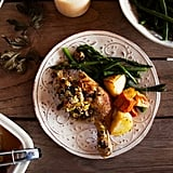 Quick Roast Lemon Thyme Chicken With Easy Stuffing
