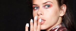 You Can't Miss These Glam Nail Looks From London Fashion Week