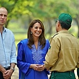 Prince William and Kate Middleton Pakistan Royal Tour Photos