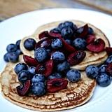 Vegan Pancakes With Mixed Berries