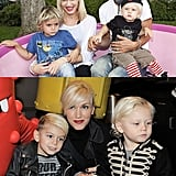 Kingston and Zuma Rossdale
