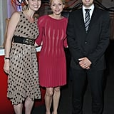 Princess Charlene posed with guests at the Maison de Monaco reception.