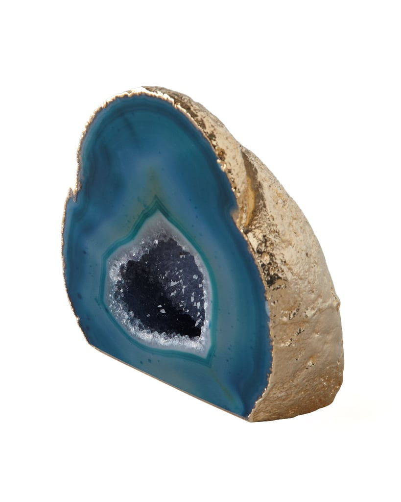 Aerin Green Agate Geode ($180)