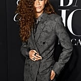 Zendaya Wears Berluti Suit to the 2019 Harper's Bazaar ICONS Party