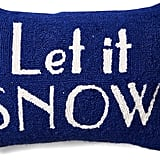Let It Snow Wool Pillow ($35, originally $39)