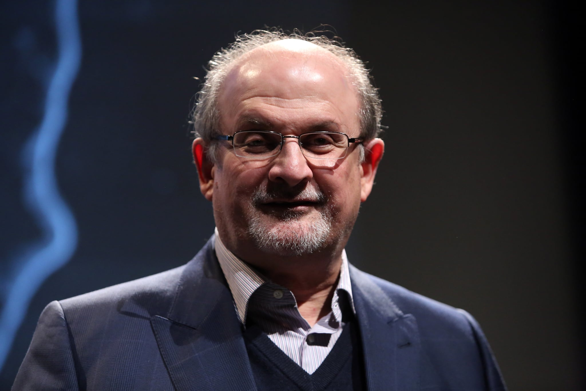 salman rushdie on why hillary clinton s is better than trump share this link copy british novelist salman rushdie