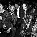 Kendrick Lamar and Rihanna