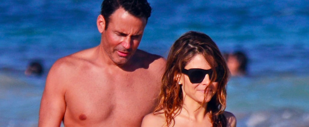 Maria Menounos Steams Up the Beach With Fiancé Keven Undergaro in Mexico