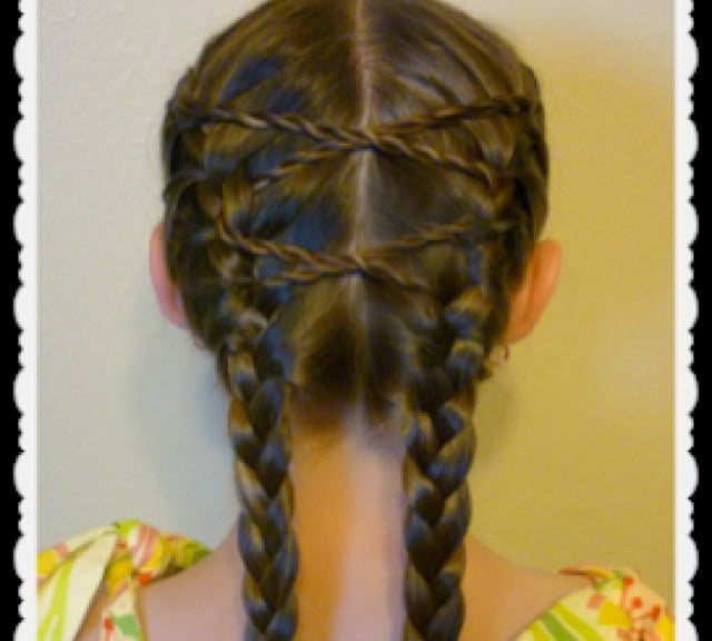 Criss Cross Braids Easy Hairstyles For Girls Popsugar