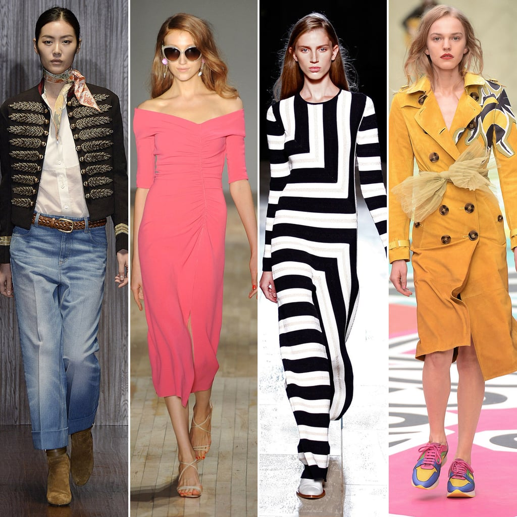 Spring Fashion Trends 2015 Runway Popsugar Fashion