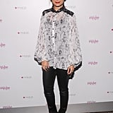 Nicole Richie celebrated the release of her Fall 2012 collection at Macy's.