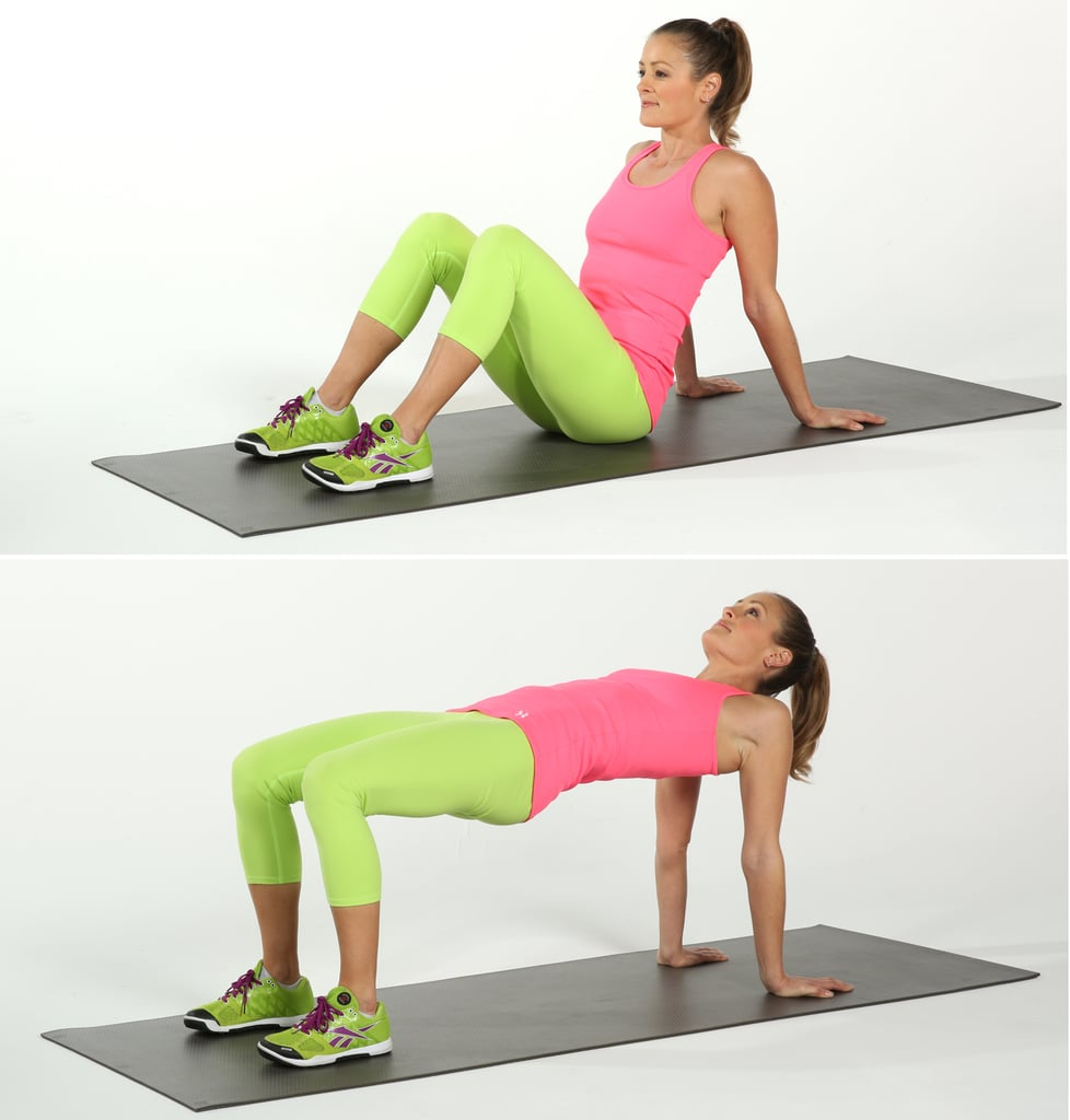 Upper and Lower Body: Reverse Plank Bridge