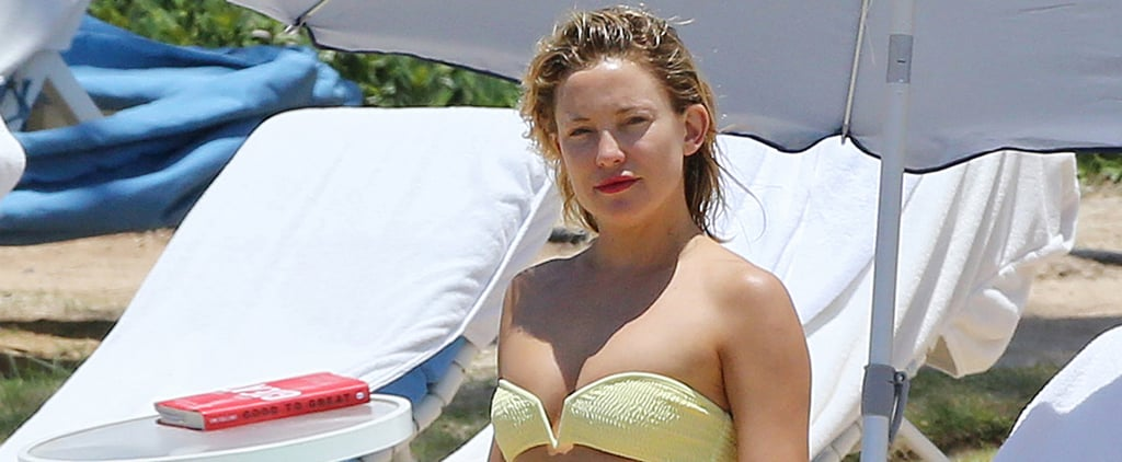 Kate Hudson Dons a Bikini For Her Beach Day With Goldie Hawn