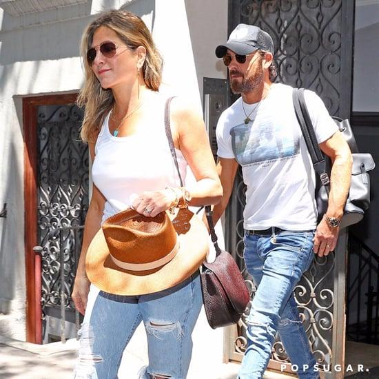 Jennifer Aniston White Sneakers
