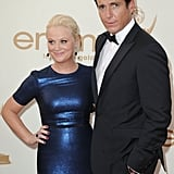 Amy Poehler with Will Arnett at the Emmys.