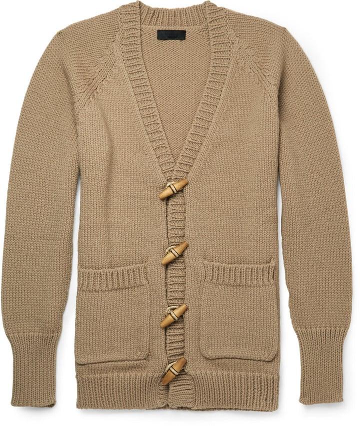 Burberry Prorsum Cashmere-Blend Cardigan (£1,295.00)